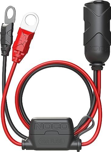 NOCO GC018 12V Adapter Plug Socket with Eyelet Terminal