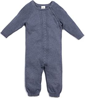 Egg by Susan Lazar Baby's Quinn Cable Layette, Indigo
