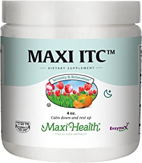Maxi Health ITC - Inositol - with Taurine and Vitamin C - Calming Formula - 4 Ounce Powder - Kosher
