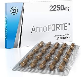 Amoforte(アモフォート)2250mg 男性用サプリメント パフォーマンス改善 副作用なし (20カプセル)