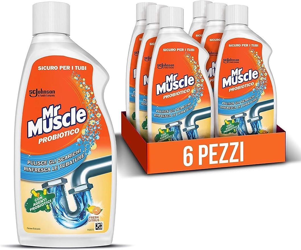 39 opinioni per Mr Muscle Probiotico, Pulisce Scarichi e Rinfresca le Tubature con Agenti