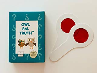 Owl Pal Truth: Therapeutic Card Game for Abused Children (English/Spanish Combo Set)