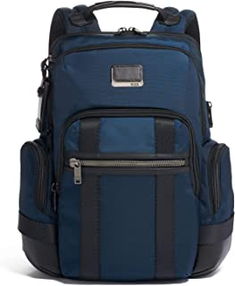 TUMI - Alpha Bravo Nathan Laptop Backpack - 15 Inch Computer Bag for Men and Women - Navy