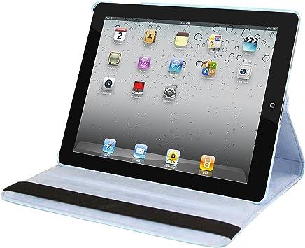 Natico Faux Leather Case for iPad 2/3/4 - Light Blue (60-I360-LBL)