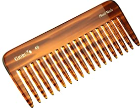 Giorgio G49 5.75 Inch Large Hair Detangling Comb, Wide Teeth for Thick Curly Wavy Hair. Long Hair Detangler Comb For Wet a...