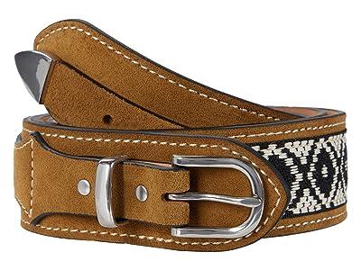 rag & bone Ranger Belt (Golden Brown Suede) Women