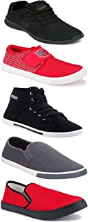 Shoefly Sports Running Shoes/Casual/Sneakers/Loafers Shoes for Men&Boys (Combo-(5)-1219-1221-1140-303-1018)