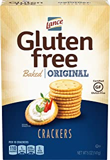 Lance Gluten Free Crackers, Original Baked, 5 Ounce, 4 Count