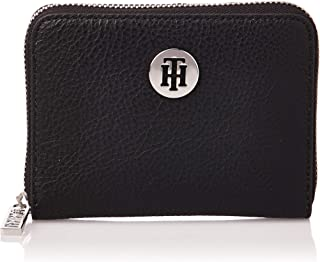 Tommy Hilfiger Zip-Around Wallet for Women-Black