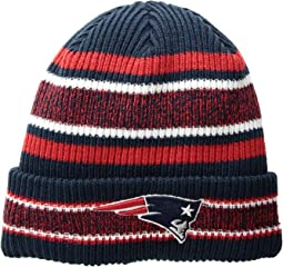7f7e6d41d72 Accessories · Hats · New Era · Men · On Sale. New England Patriots Vintage  Stripe