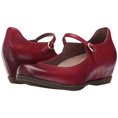 Dansko Loralie (Red Burnished Nubuck) Women