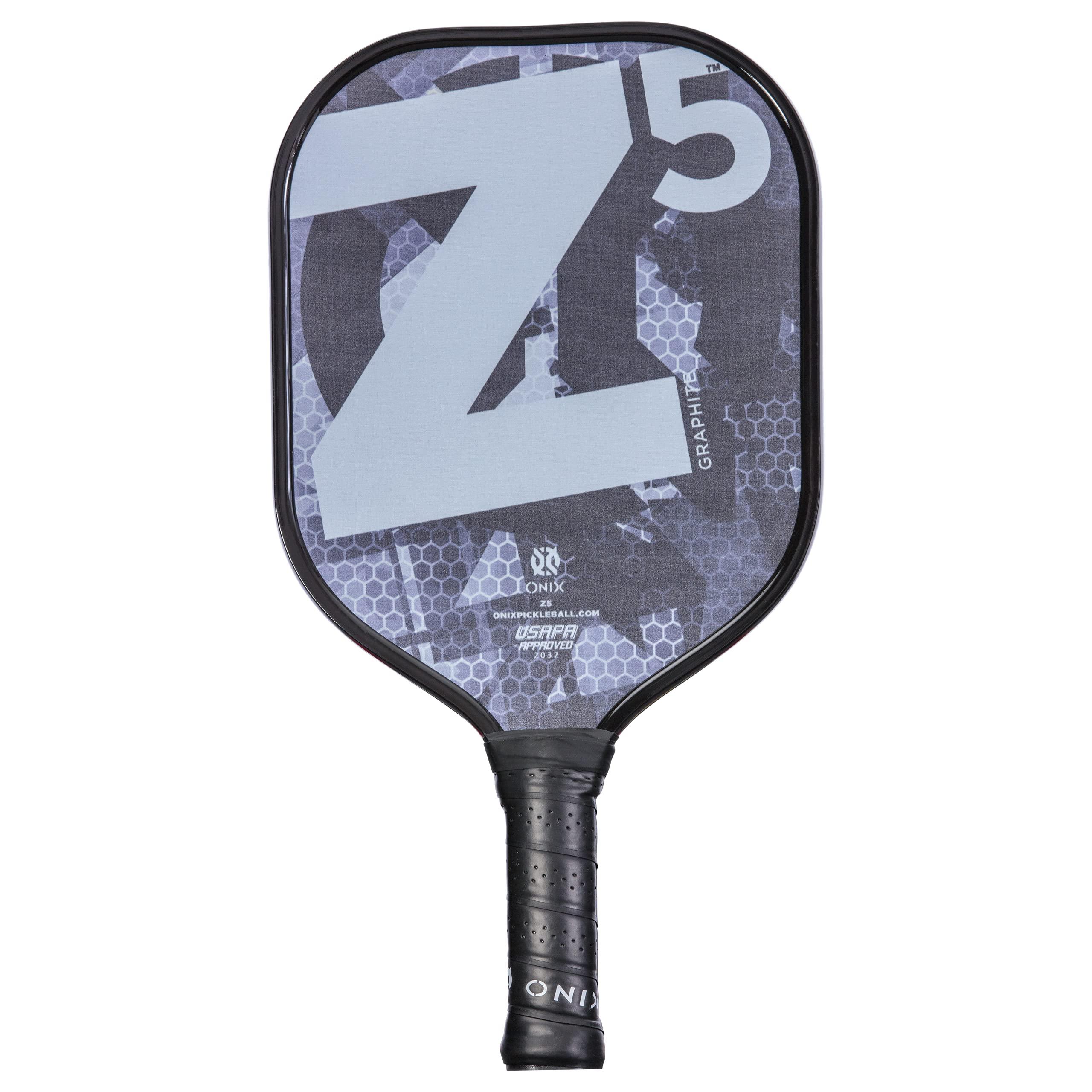 Onix Graphite Z5 Graphite Carbon Fiber Pickleball Padd -JBWV