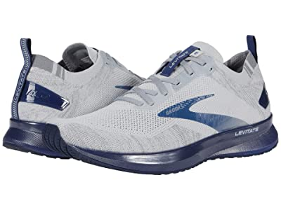 Brooks Levitate 4 (Grey/Oyster/Blue) Men