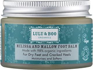 Lulu & Boo Organics Melissa and Mallow - Bálsamo para pies (35 g)