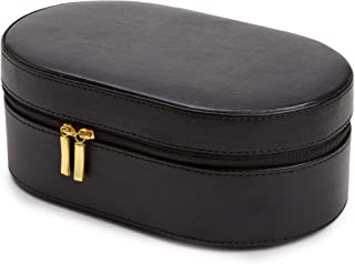 WOLF 280602 Heritage Oval Zip Case, Black