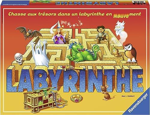 marca Ravensburger Labyrinthe Labyrinthe Labyrinthe Niños y adultos Juego de apuestas - Juego de tablero (Juego de apuestas, Niños y adultos, 30 min, Niño niña, 7 año(s), 99 año(s))  artículos de promoción