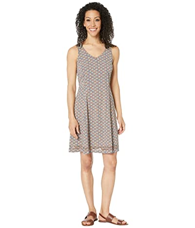 Toad&Co Sunkissed Petal Dress (Snorkel Blue Diamond Print) Women