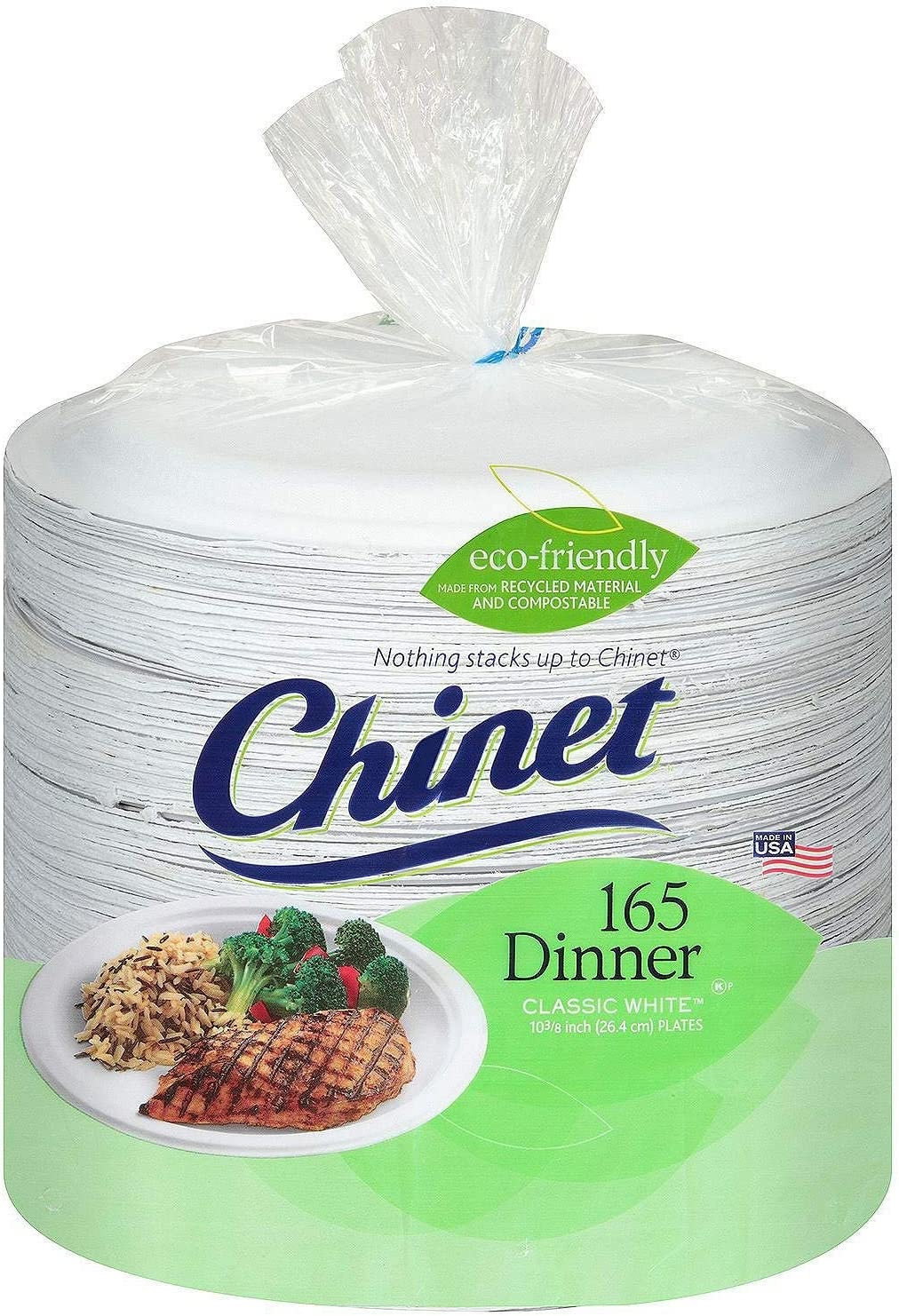 wholesale Chinet - Paper Dinner Plates - 495 ct.: Kitchen & Dining ...