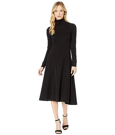 LAUREN Ralph Lauren High Neck Dress (Polo Black/Black) Women