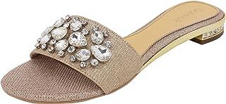 Catwalk Gold Slip-on Sandals