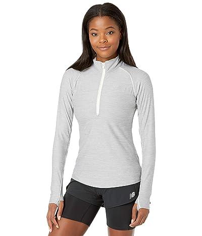 New Balance Transform 1/2 Zip (Athletic Grey) Women