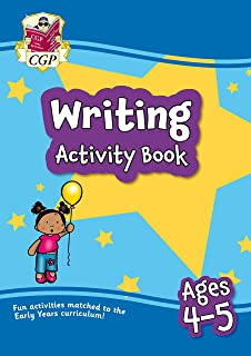 New Writing Activity Book for Ages 4-5: Perfect for Catch-Up and Home Learning