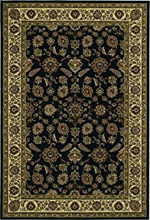 6' x 6' Round Oscar Isberian Rugs Area Rug Brown/Ivory Color Machine Made Egypt