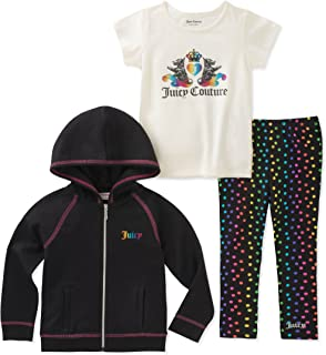Juicy Couture Baby Girls 3 Pieces Jacket Set
