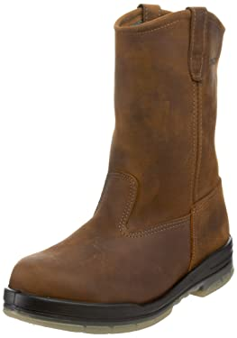 Wolverine Men's W03258 Durashock Waterproof Steel-Toe Boot