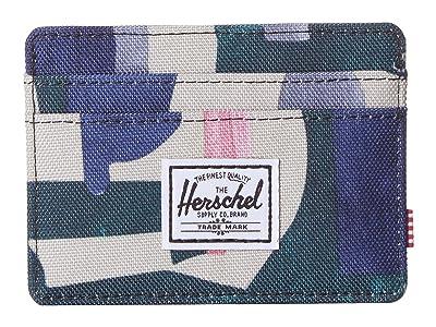 Herschel Supply Co. Charlie RFID (Abstract Block) Wallet Handbags