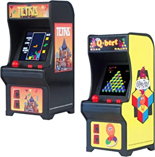 Tiny Arcade Tetris Qbert - Set of 2