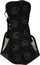 Cruising Companion CR Pawprint Car Harness for Dogs, Large, Black