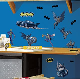 RoomMates Batman Gotham Guardian Peel and Stick Wall Decals - RMK1148SCS