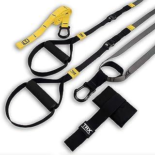 TRX GO Suspension Trainer System (Grå): Lätt och bärbar | Träning i hela kroppen, alla nivåer och alla mål | Inkluderar Ko...