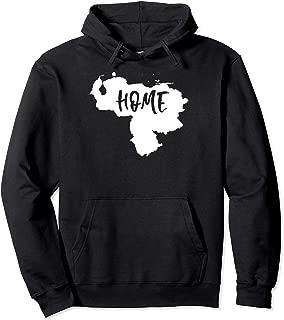 Venezuela My Home Map Shape T-Shirt Pullover Hoodie