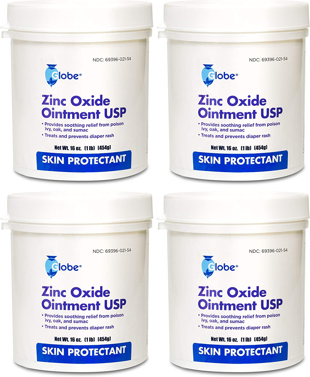 Zinc Oxide Ointment by GLOBE Max 76% OFF - 1 4 Lb Complete Free Shipping Pack