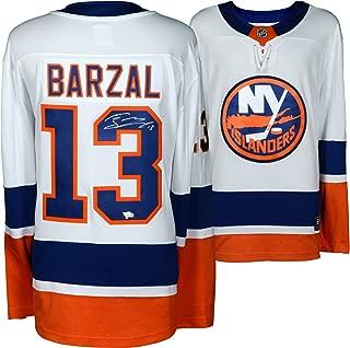 Mathew Barzal New York Islanders Autographed White Fanatics Breakaway Jersey - Fanatics Authentic Certified