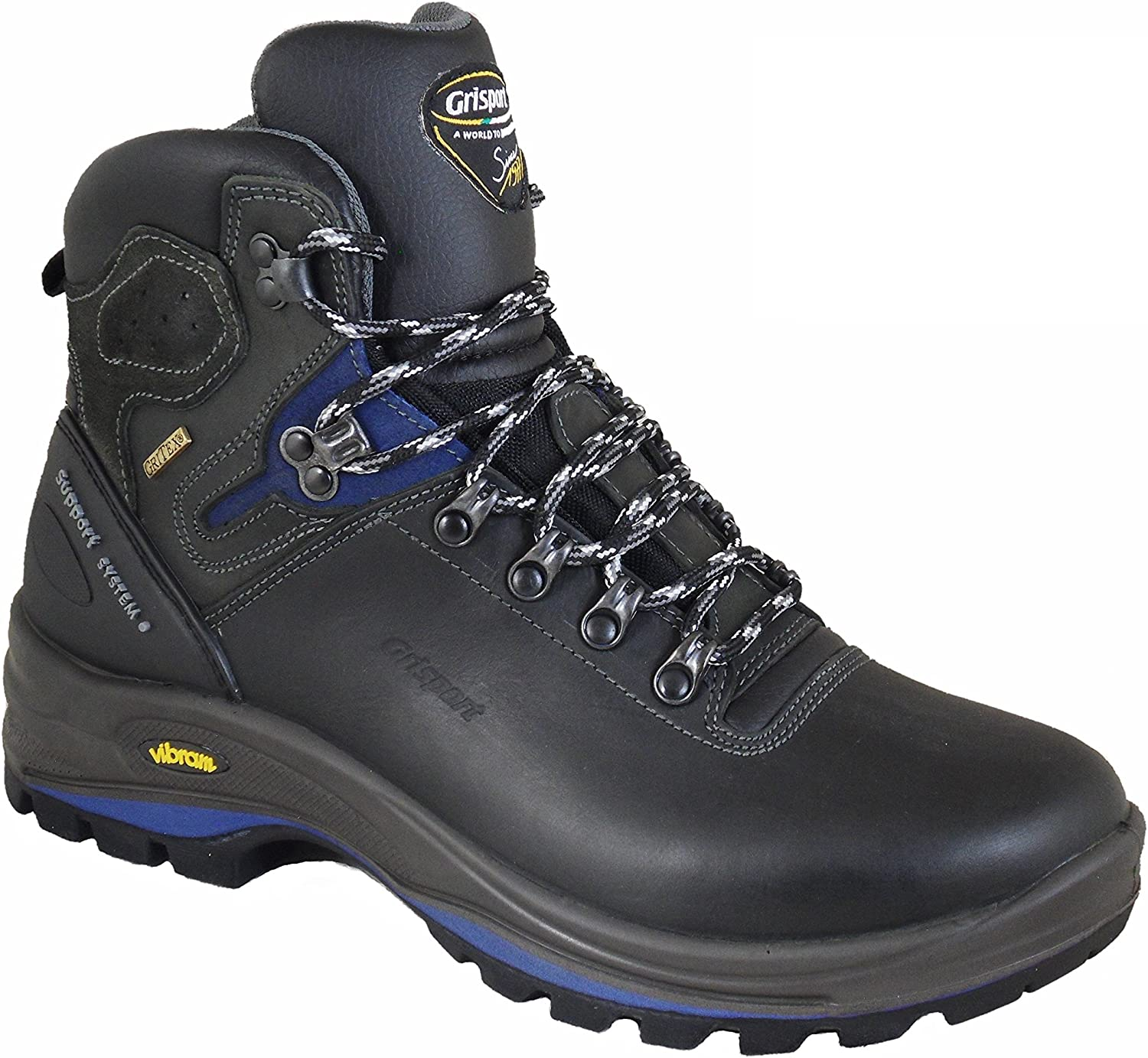 greyport Mens Summit Walker Mens Walking Boots With Vibram Sole