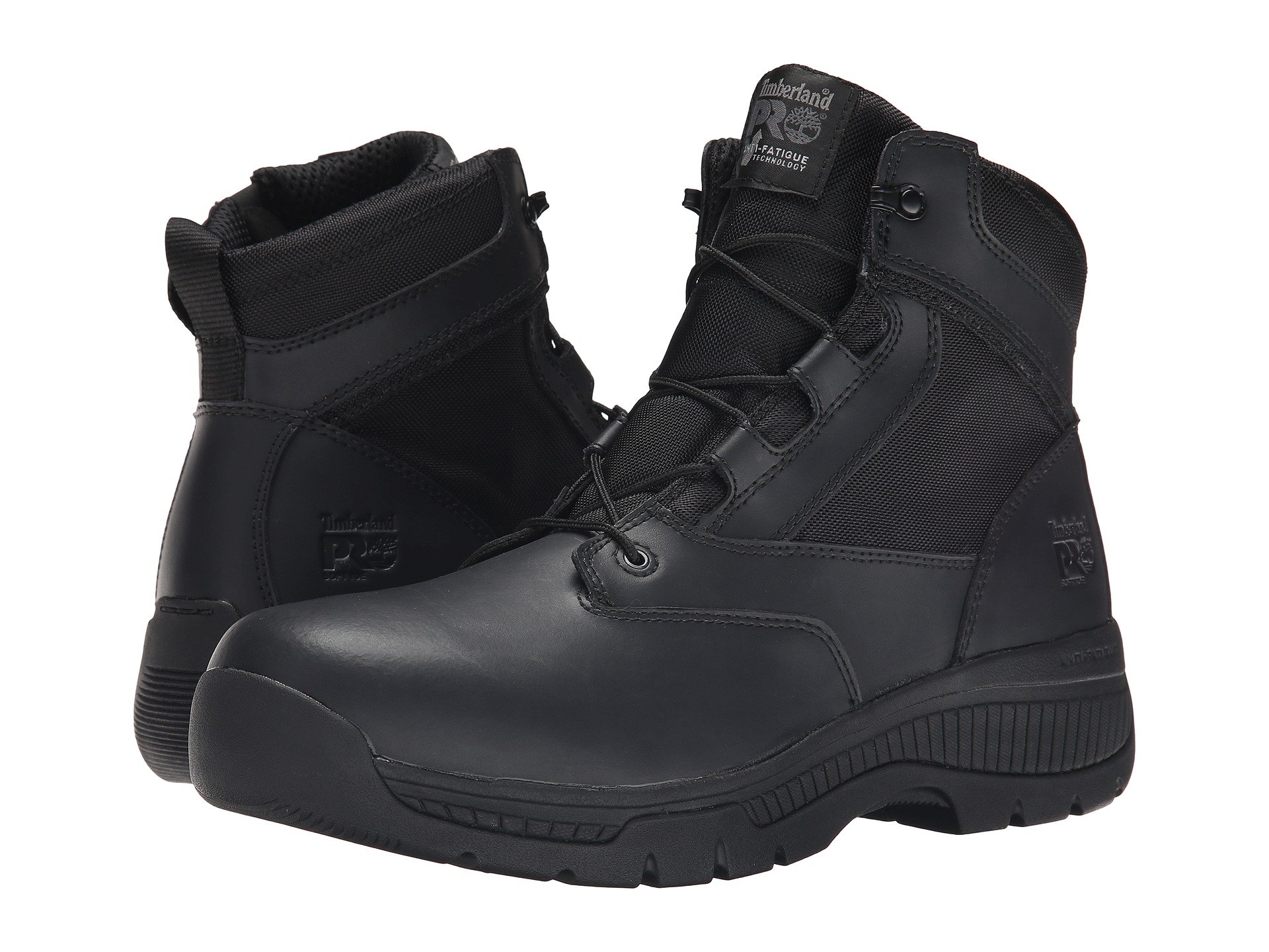 Soft Valor™ zip Black Side Toe Timberland Pro 6