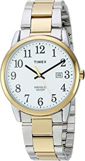Timex Men's Easy Reader Stainless Steel Bracelet Watch