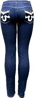 Jack-D Womens Juniors Luscious Basic Bootcut/Straight Butt Lifting Denim Jeans Stretch
