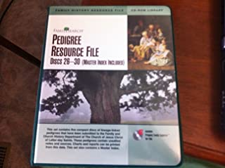 Pedigree Resource File Discs 26-30 (Master Index Included)