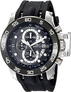 インヴィクタ インビクタ フォース Invicta Men's 19251 I-Force Stainless Steel Watch With Black Synthetic Band [並行輸入品]