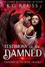 Testimony of the Damned: A Forbidden Paranormal Romance (Emissary of the Devil Book 1)