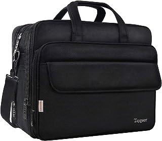 Taygeer Borsa Porta PC, 17 Pollici Borsa per PC Portatile Notebook Impermeabile Borsa a Tracolla per Laptop Borsa da Lavor...