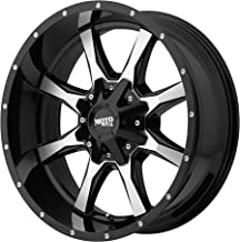 Moto Metal MO970 Gloss Black Wheel Machined with Milled Accents (20x9