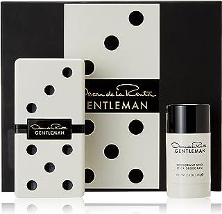 Oscar De La Renta Gentleman for Men, 2 Piece Gift Set 3.4oz EDT Spray, 2.5oz Deorant Stick, 2 count