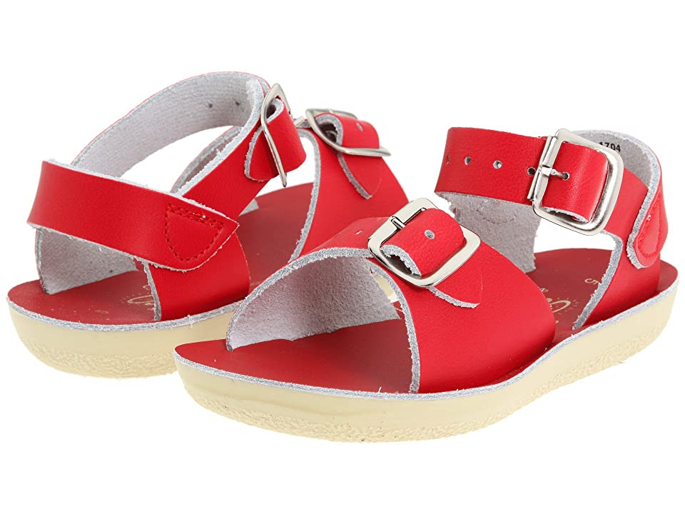 Salt Water Sandal by Hoy Shoes Sun-San Surfer (Toddler/Little Kid) (Red) Kid