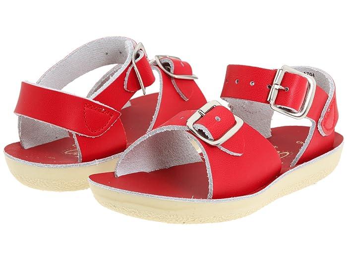 Salt Water Sandal by Hoy Shoes  Sun-San - Surfer (Toddler/Little Kid) (Red) Kids Shoes