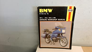 BMW K100 and K75 987-740cc 1983-89 Owner's Workshop Manual (No. 1373)